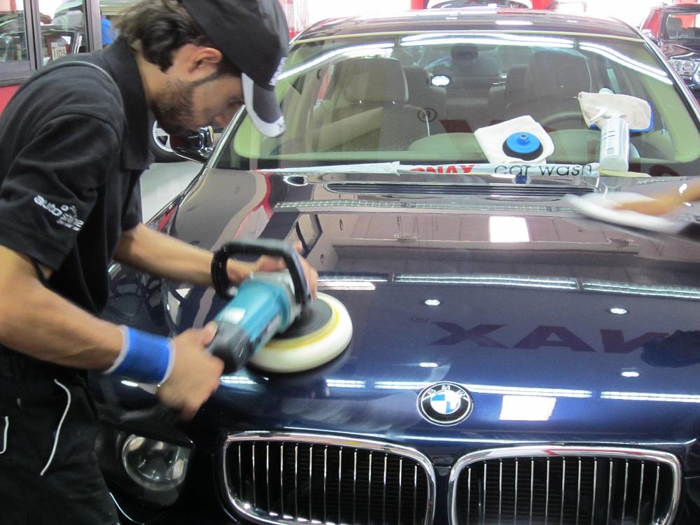Machine Polishing Vs. Hand Polishing