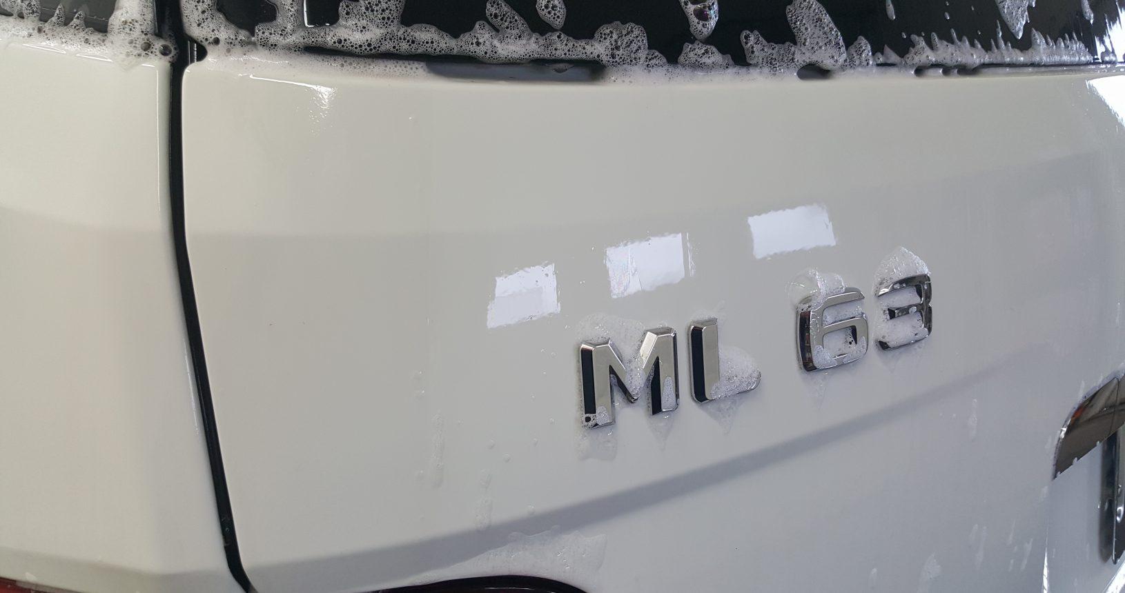 ml63 amg detailing