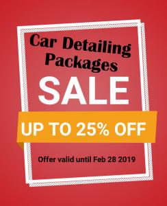 Auto Detailing Promotion Burlington Ontario