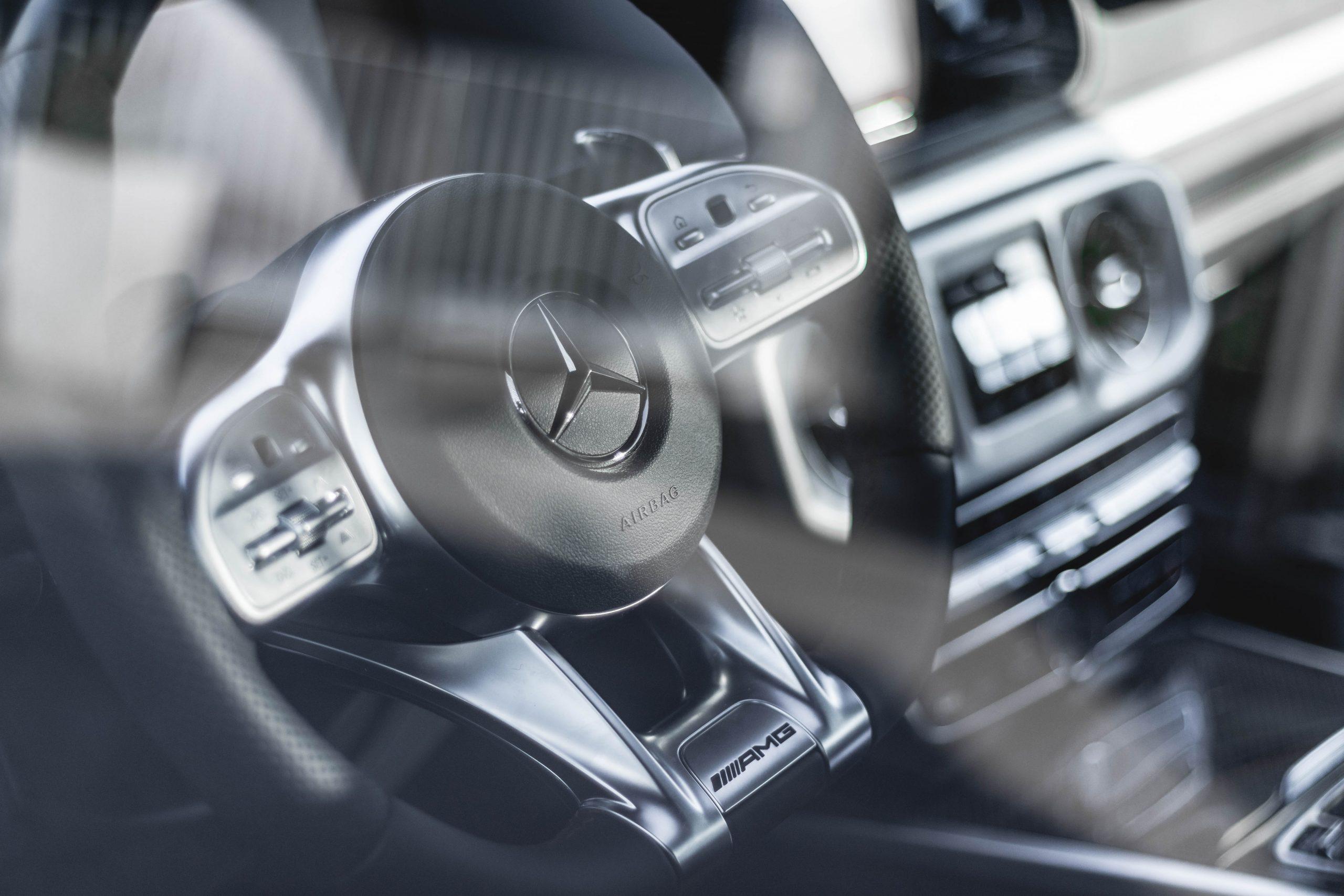 White Mercedes - Budget Auto Detailing - Burlington Ontario