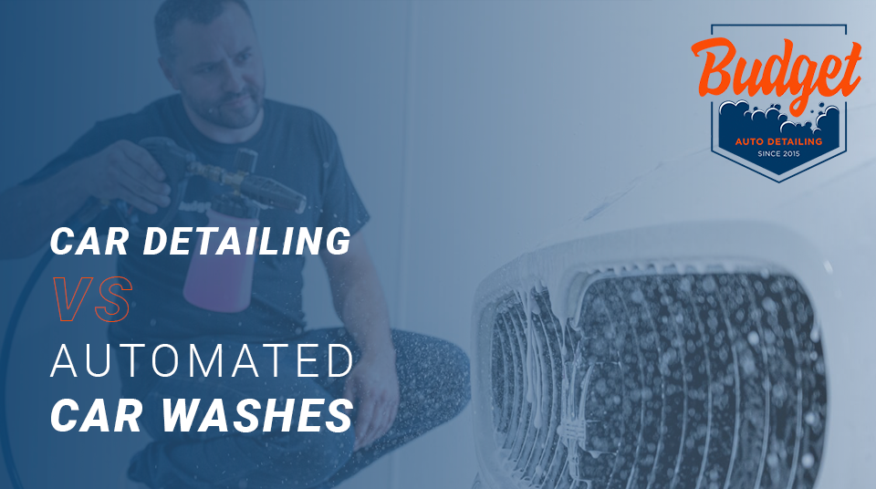 car detailing vs car washes